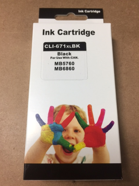SIS ink PGI-671XL Black