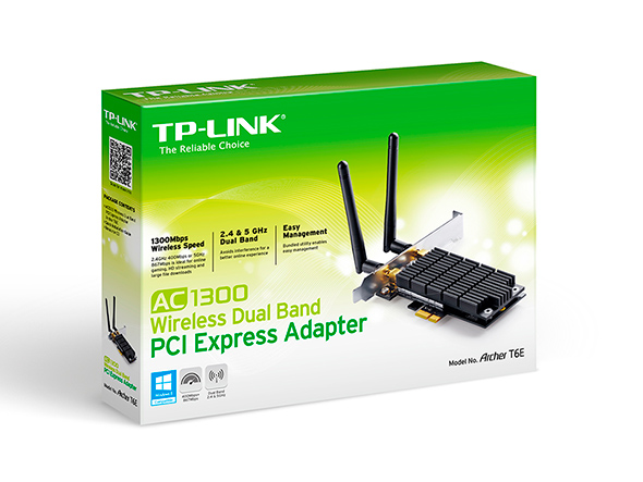 TP-Link Archer T6E AC1300 PCIE Adapter