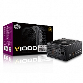 CoolerMaster V1000 80+Gold 1000w PSU