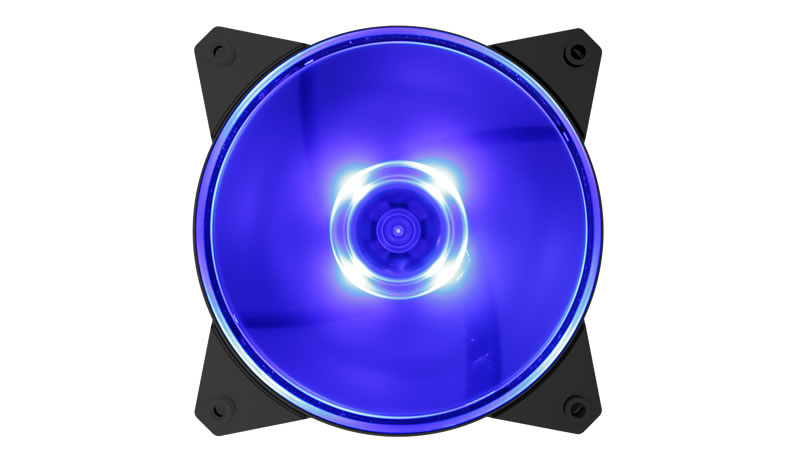Coolermaster MasterFan MF120L Blue Fan