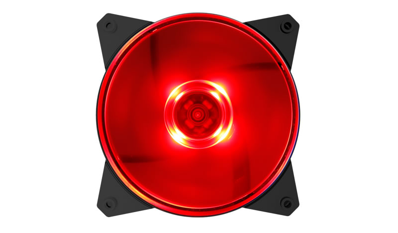 Coolermaster MasterFan MF120L Red Fan