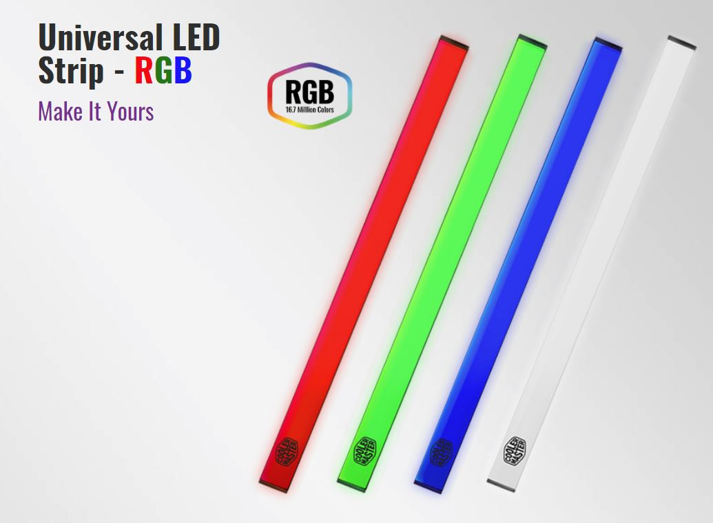 Coolermaster Universal LED Strip RGB