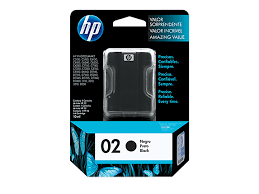 HP Inkjet Cartridge 02 Black