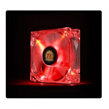 Thermaltake Pure 8cm Red LED fan