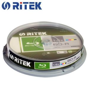 Ritek BD-R 25gb 10pcs(green)