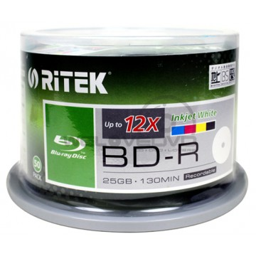 Ritek BD-R 25gb 50pcs 12X Green