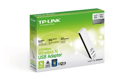 TP-LINK Wireless-N 300Mbps WL-WN821N