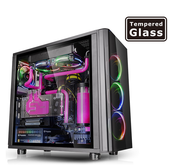 Thermaltake View 31 TG RGB Tempered Glass