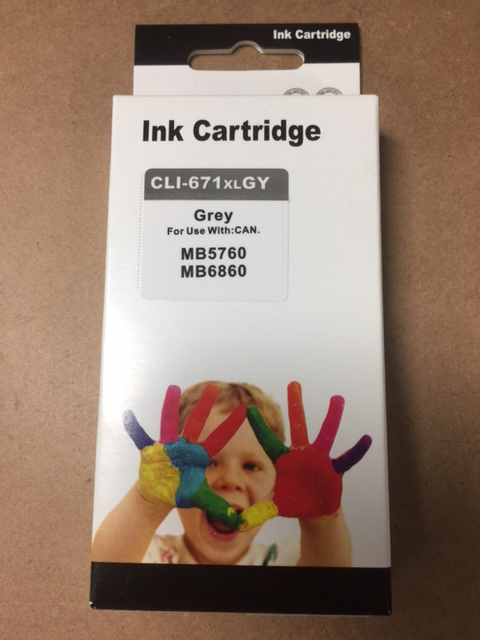 SIS ink PGI-671XL Grey